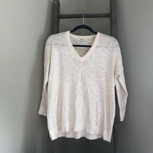 Madewell V-Neck Sweater Size Small